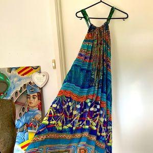 ♦️HOST PICK♦️CAMILLA silk halter Dress